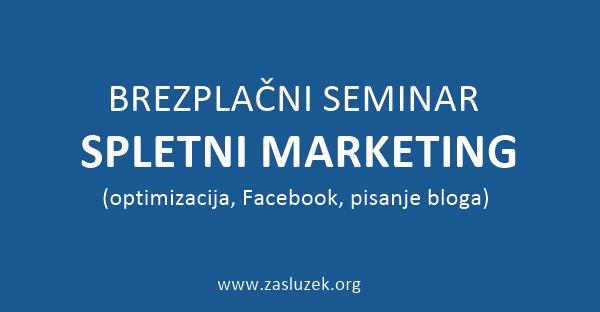 Brezplačni seminar