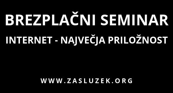 Brezplačeni seminar