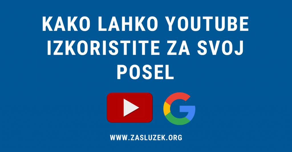 izkoristite Youtube za vaš posel