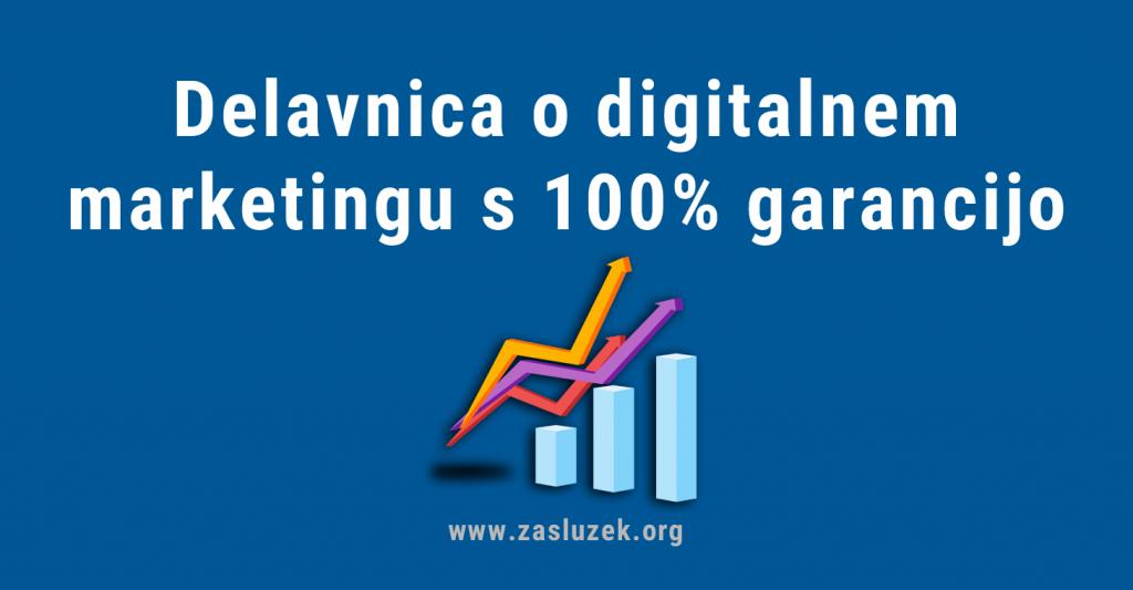digitalni marketing - delavnica